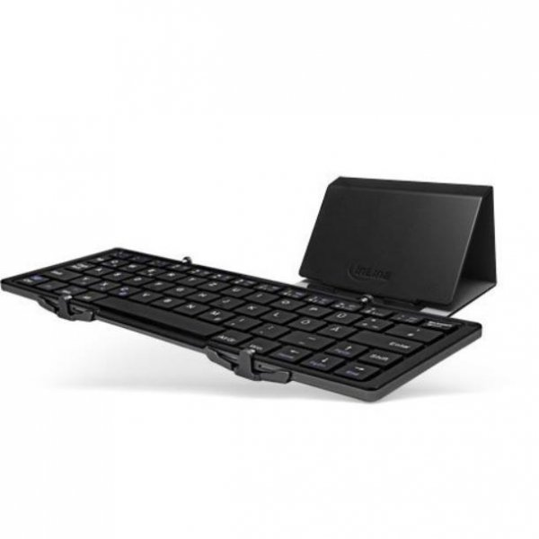 INTOS INLINE faltbare Bluetooth Tastatur BT-Quick schwa