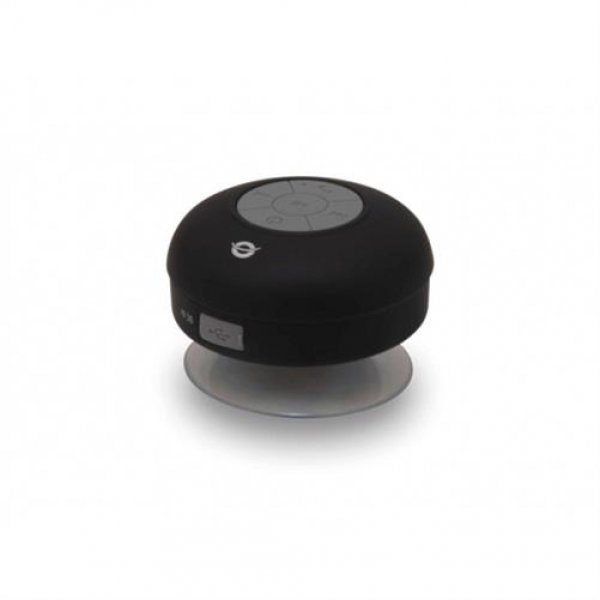 Conceptronic Wireless waterproof Bluetooth Suction Speaker black
