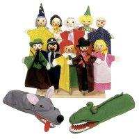 Toys pure Handpuppen-Set 1 ab 3 Jahren 27 cm / 40 cm NEU