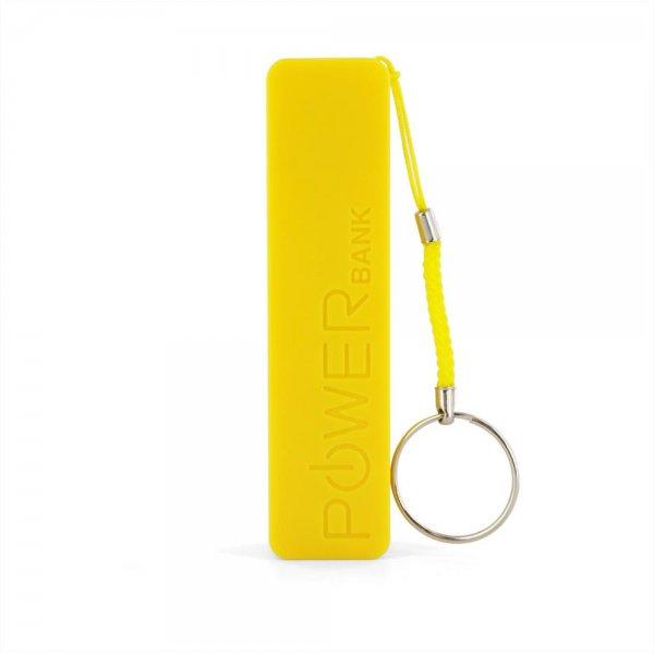 XLayer Zusatzakku Powerbank Colour Line Yellow 2600mAh
