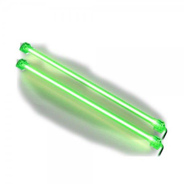Revoltec RM125 Kaltlichtkathoden Twin-Set Grün 31 cm