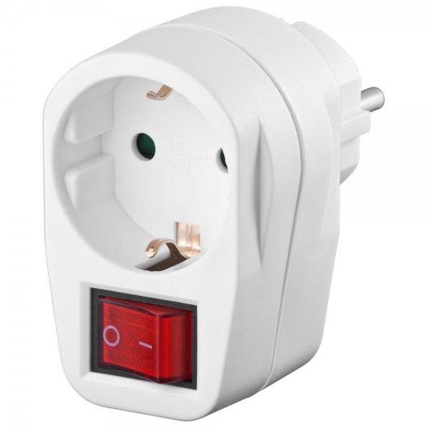Goobay 94272 Schutzkontakt-Schalter 1x Schutzkontakt-Buchse Netzschalter