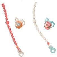 Zapf Creation 703021 Baby Annabell Schnuller mit Clip Puppenzubehör, 1 Stück - Farbe nach Vorrat