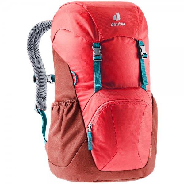 Deuter Junior Kinderrucksack Wanderrucksack Reiserucksack chili-lava Rucksack Jungen Mädchen rot