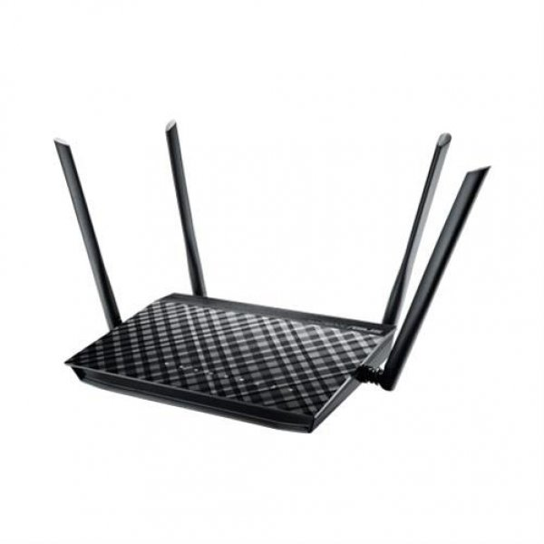 ASUS RT-AC1200G+ Wireless Router schwarz 1200 Mbps