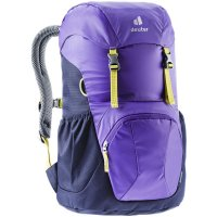 Deuter Junior Kinderrucksack Wanderrucksack Reiserucksack violet-navy Rucksack Mädchen Jungen lila