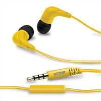 ACME HE15Y Groovy In-Ear Kopfhörer mit Mikrofon Gelb