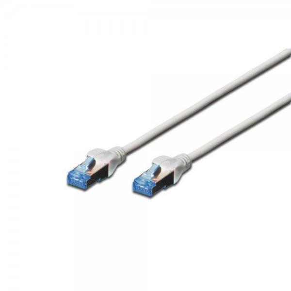 DIGITUS Premium CAT 5e F-UTP Patchkabel Cu 50 m Grau | Netzwerkkabel ...