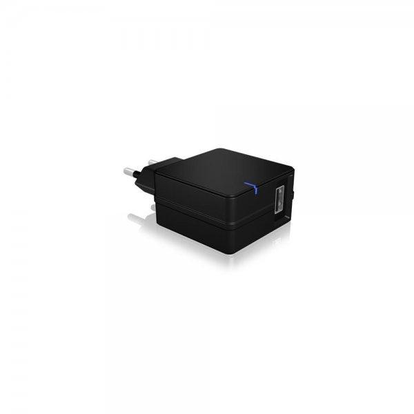 ICY BOX IB-CH101Q USB Schnellladegerät Quick Charge 2.0