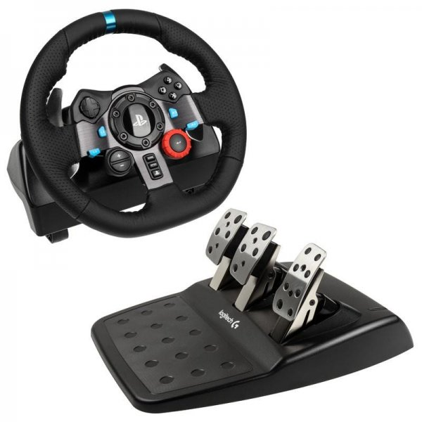 logitech g29 driving force lenkrad pc ps3 ps4 plugg controller zubeh r pc videospiele. Black Bedroom Furniture Sets. Home Design Ideas