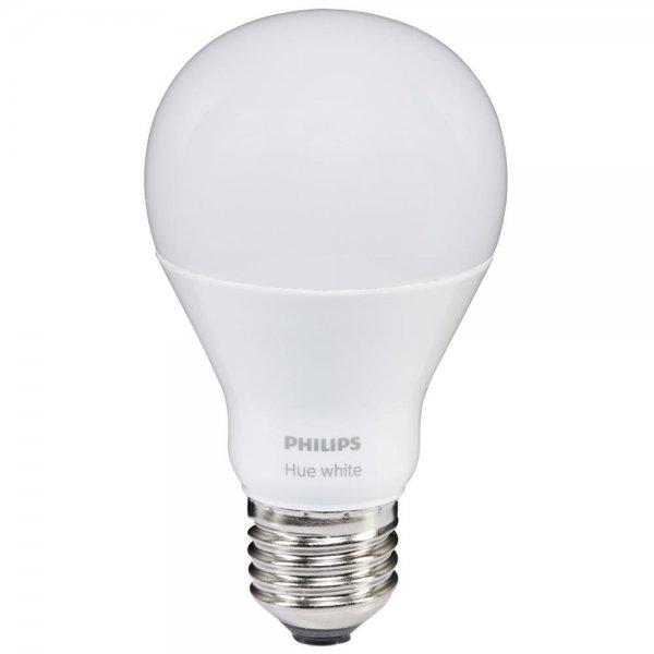 Philips Hue LED Lampe E27 DIM 9,5W (60W) warmweiß 800lm | Lampen ...