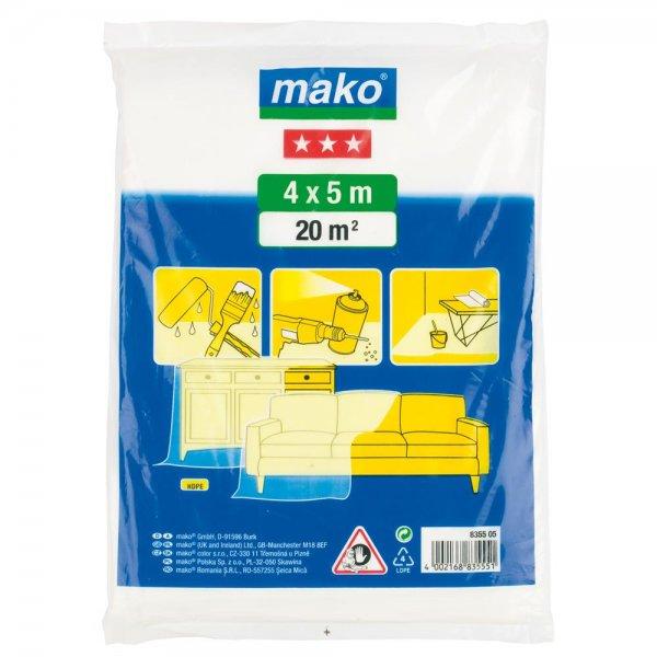 mako Malerplane mittelstark (3 Stern) 4 x 5 m