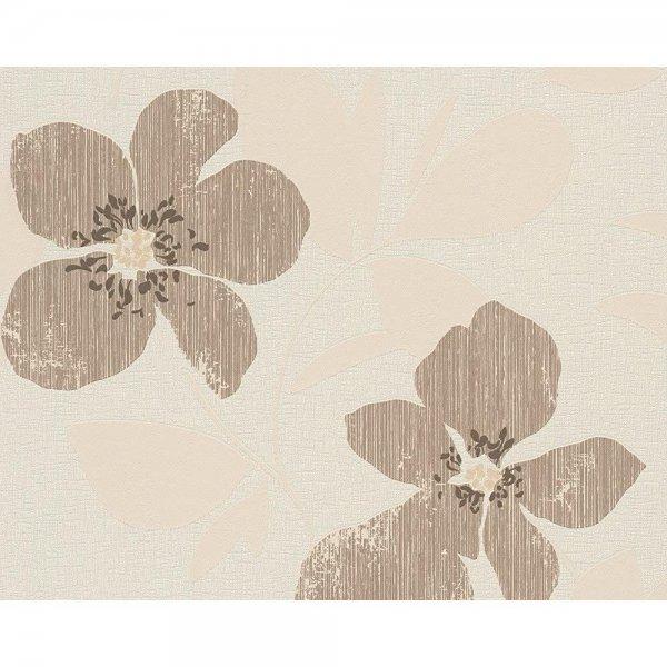 A.S. Création Vliestapete Floral Braun Beige Blumen 962271