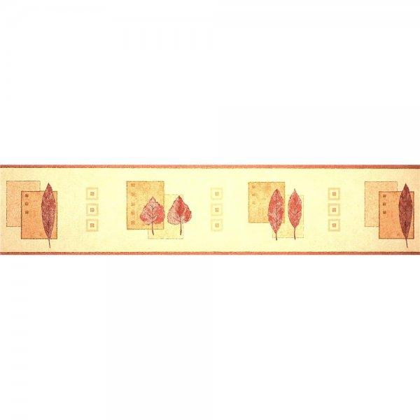 1 Rolle Bordüre Opera Mulberry Beige Rot Gold 600602