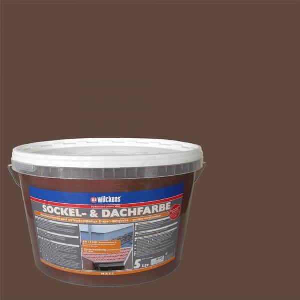 Wilckens Sockel- & Dachfarbe Havanna matt 5 l