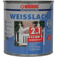 Wilckens Weisslack 2in1 seidenmatt 750 ml
