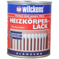 Wilckens Heizkörperlack weiß, glänzend 750 ml