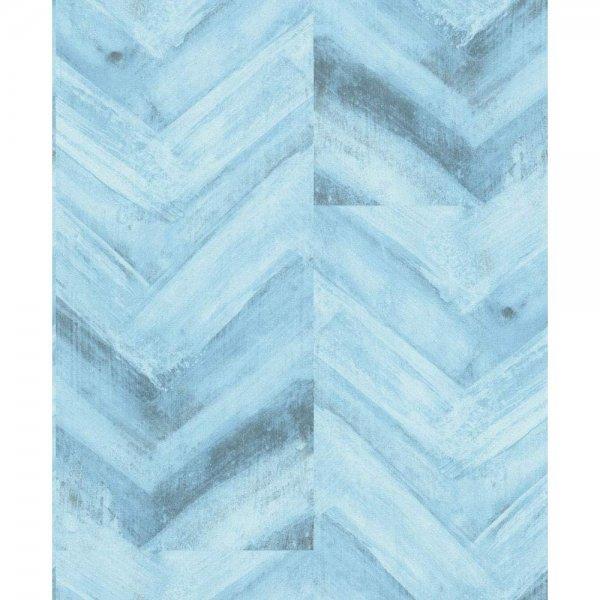 Vlies-Tapete Erismann Blau Grau 6351-08