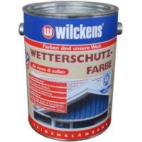 Wilckens Wetterschutzfarbe Reinweiß RAL 9010 2,5 l