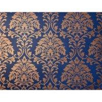 PALAZZO Tapete -Ornament- Neo Barock Blau Bronze 22011-13