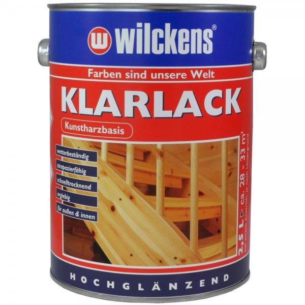 Wilckens Klarlack hochglänzend 750 ml für außen & innen transparent