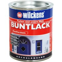 Wilckens Buntlack hochglänzend RAL 3009 Oxidrot 750 ml