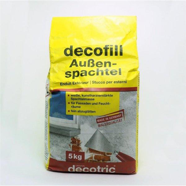 Pufas decofill Außenspachtel 5 kg kunstharzverstärkte