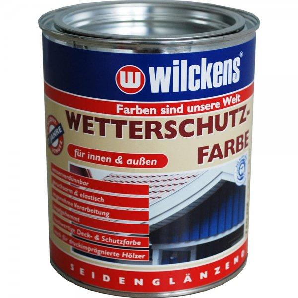 Wilckens Wetterschutzfarbe Reinweiß RAL 9010 750 ml