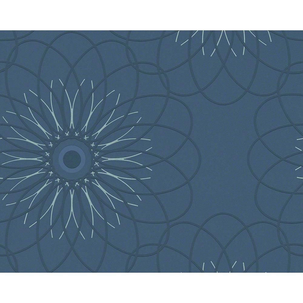 a s cr ation vlies tapete blau 940225 4051315054833 ebay. Black Bedroom Furniture Sets. Home Design Ideas