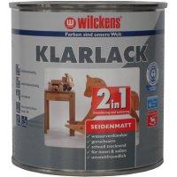 Wilckens 2-in-1 Klarlack seidenmatt 750 ml geeignet für Kinderspielzeug Innen- und Außenbereich