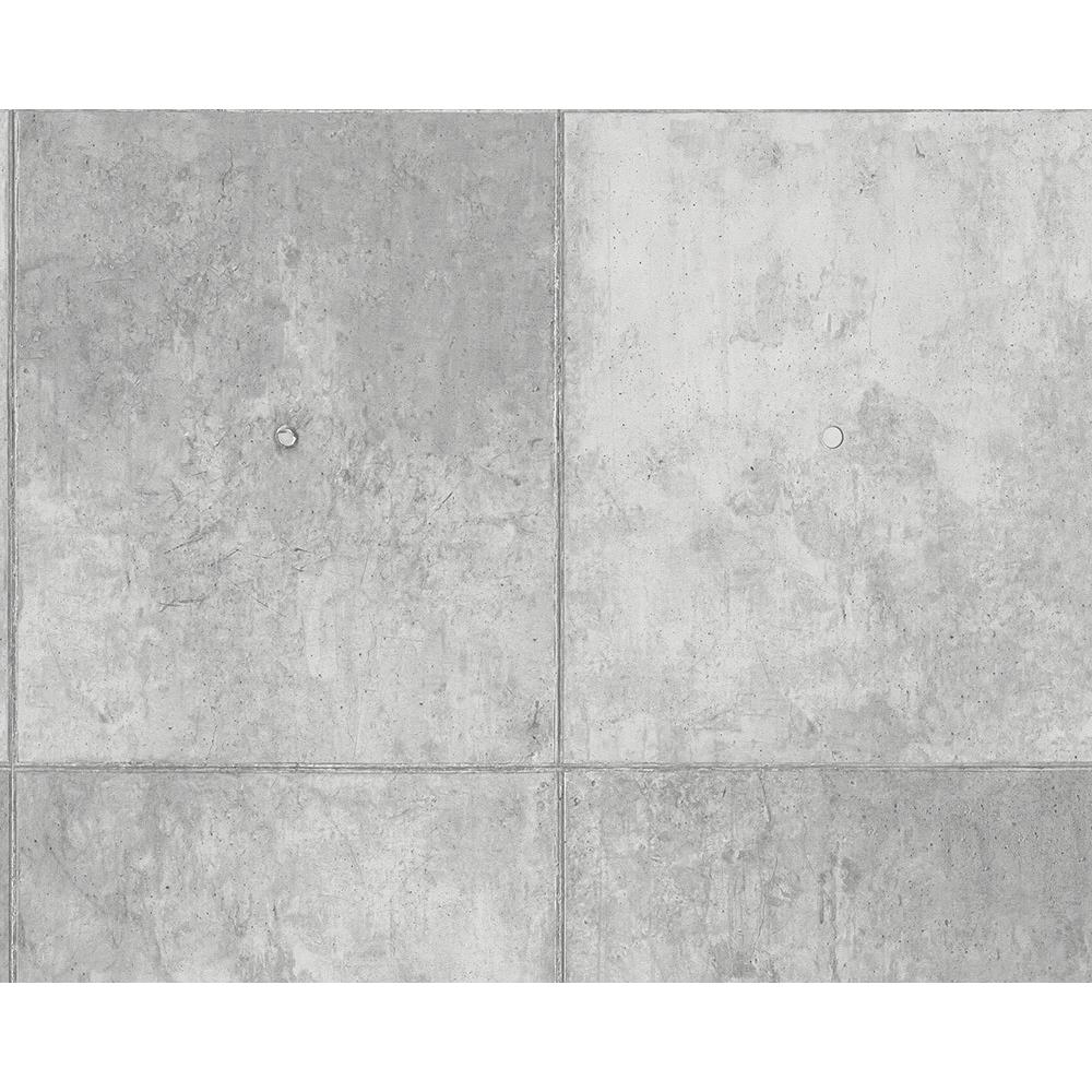 a s cr ation tapete authentic walls grau beton 301791 katalog tapetenkontor. Black Bedroom Furniture Sets. Home Design Ideas