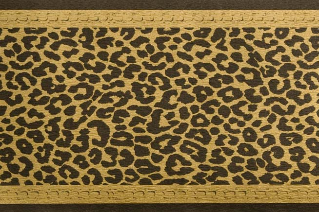 3 rollen tapeten bord re leopard schwarz gold exklusiv ebay. Black Bedroom Furniture Sets. Home Design Ideas